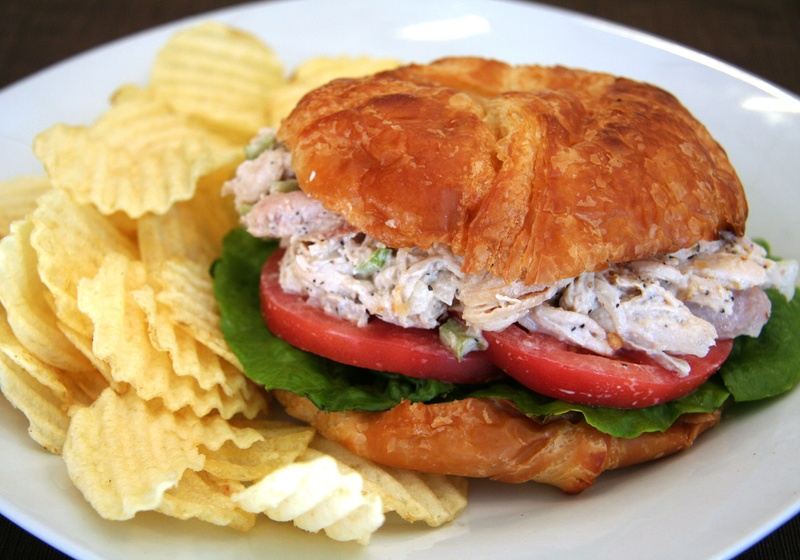 Chicken Salad Sandwich - 3rd street coffee