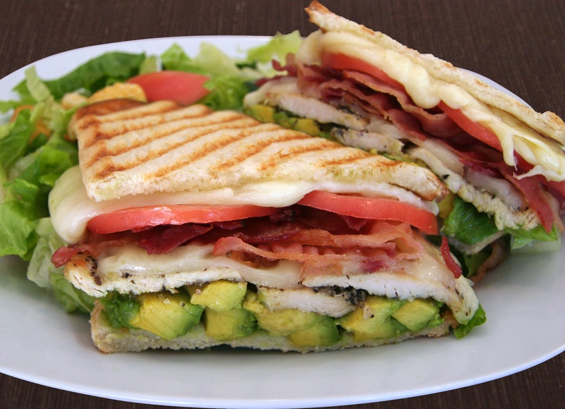 Chicken Breast Panini Deluxe